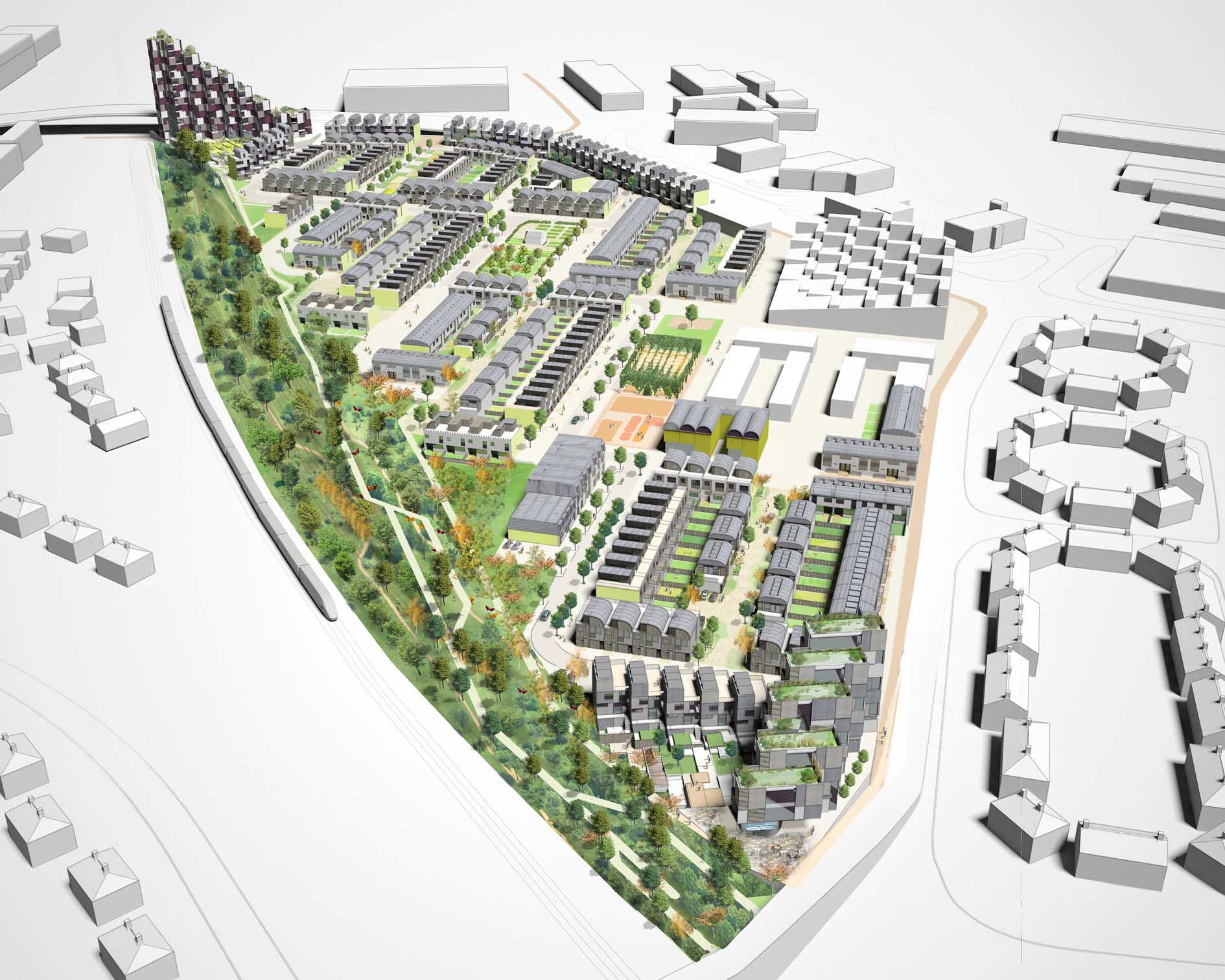 Sustainable Neighbourhood Ncl Urban Design Blog